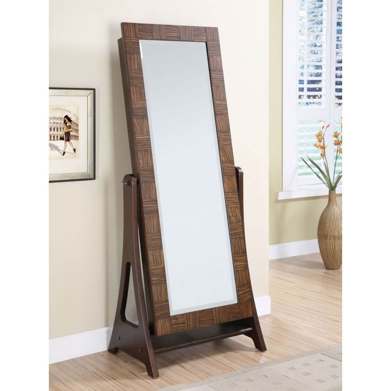 Image of: System Standing Mirror Jewelry Armoire