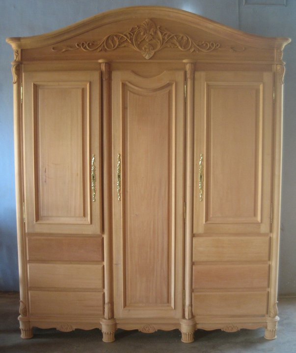 Picture of: System Unfinished Armoire