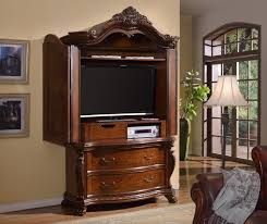 Picture of: TV Wood Armoire Wardrobe