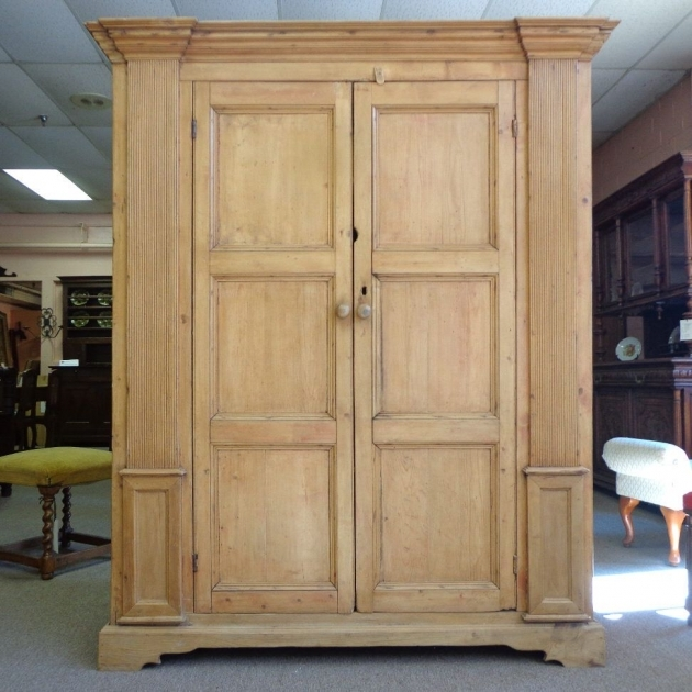 Image of: Tall Armoire Decor