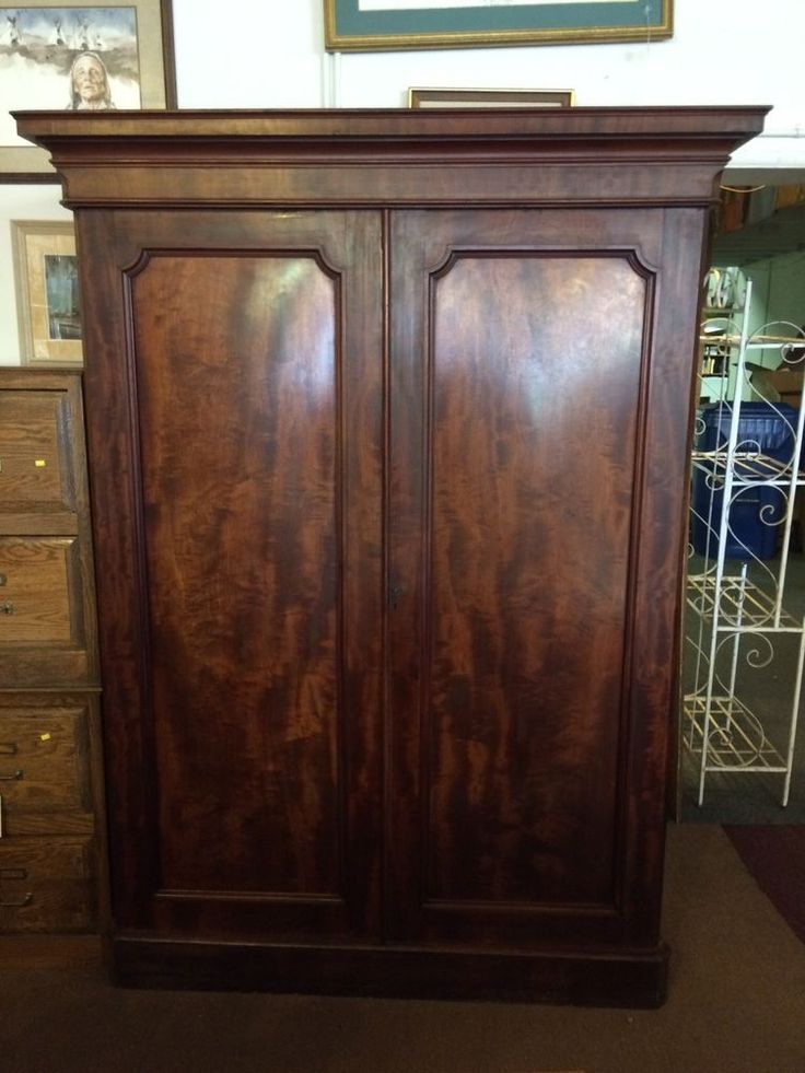 Traditional Antique Armoire Wardrobe