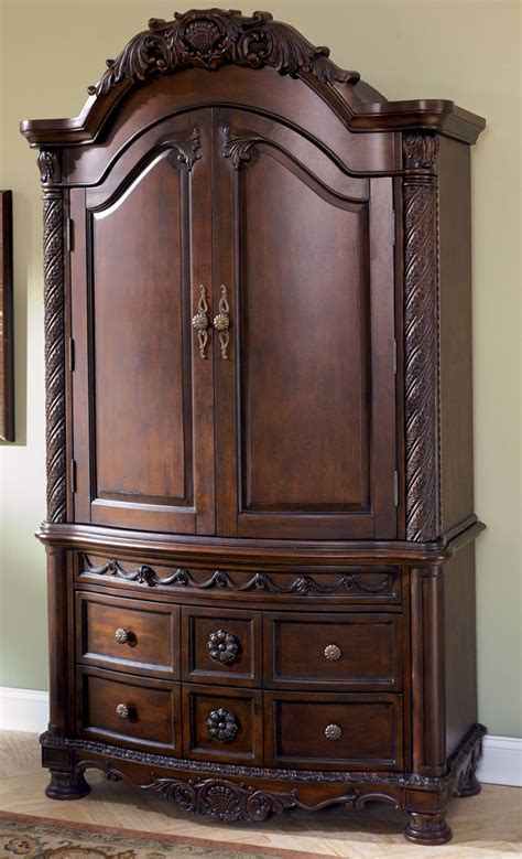 Image of: Traditional Ashley Furniture Armoire