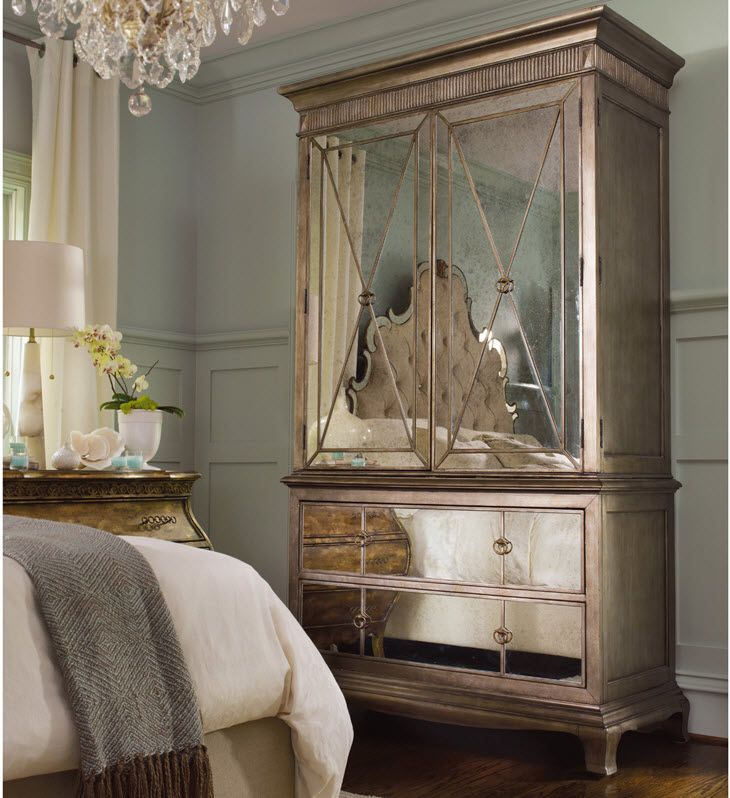 Traditional Hooker Armoire