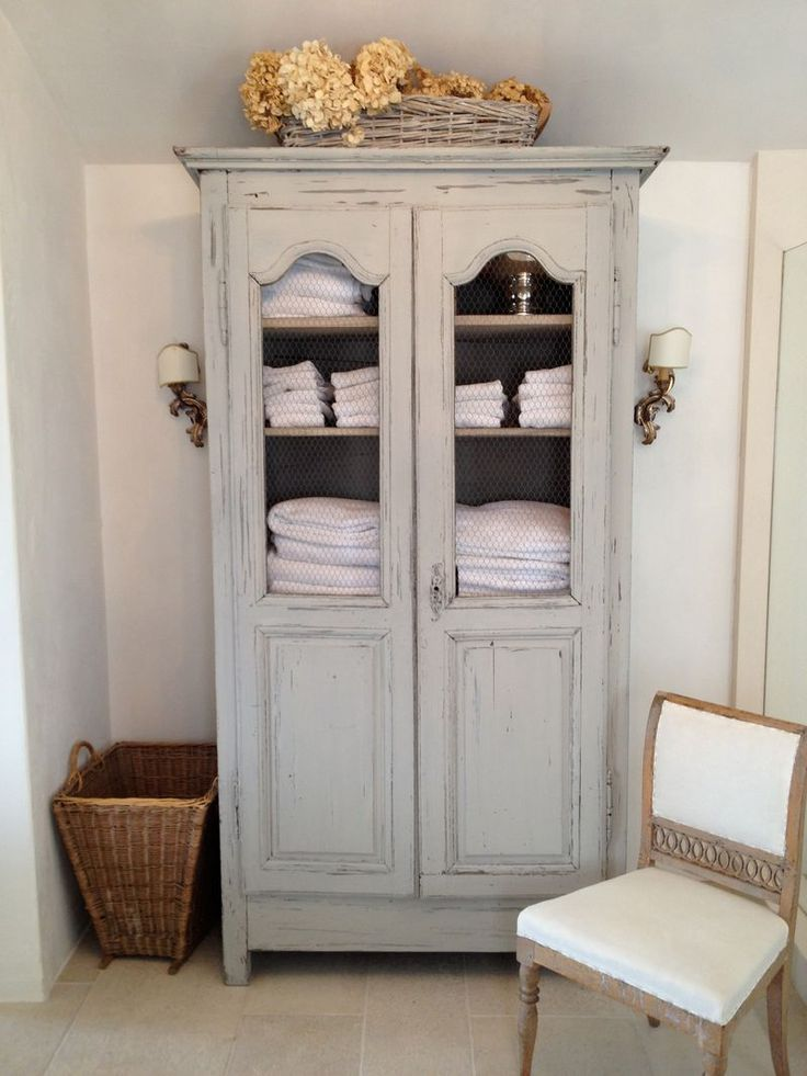 Traditional Linen Armoire
