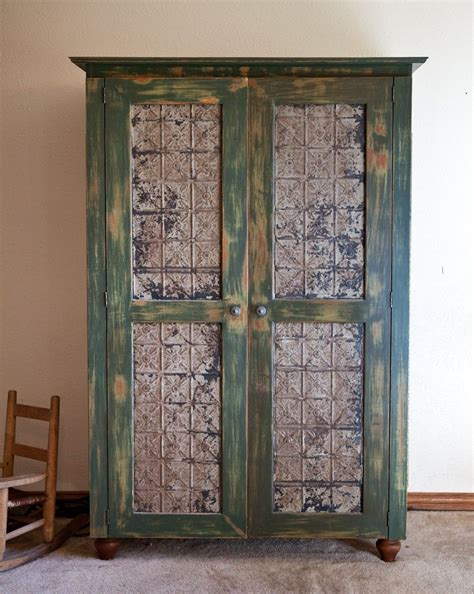 Picture of: Traditional Rustic Jewelry Armoire