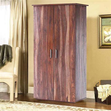 Image of: Traditional Solid Wood Armoire