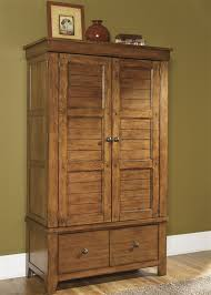 Picture of: Traditional Wood Armoire Wardrobe