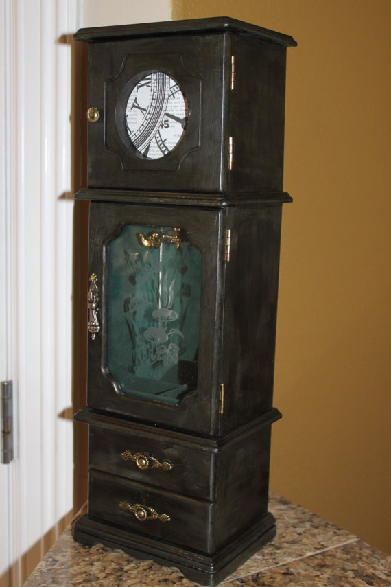 Picture of: Unique Black Jewelry Armoire