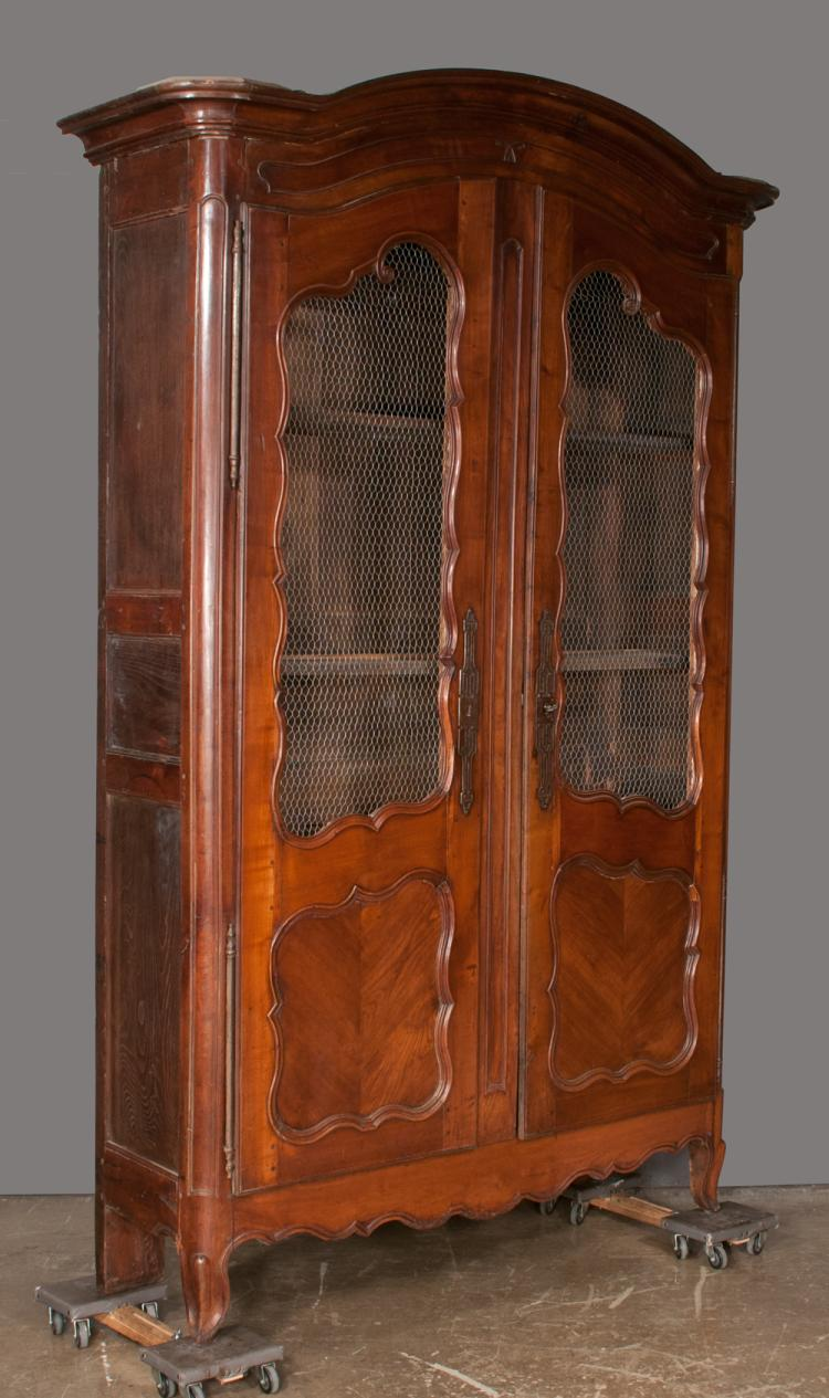 Image of: Unique Cherry Wood Armoire