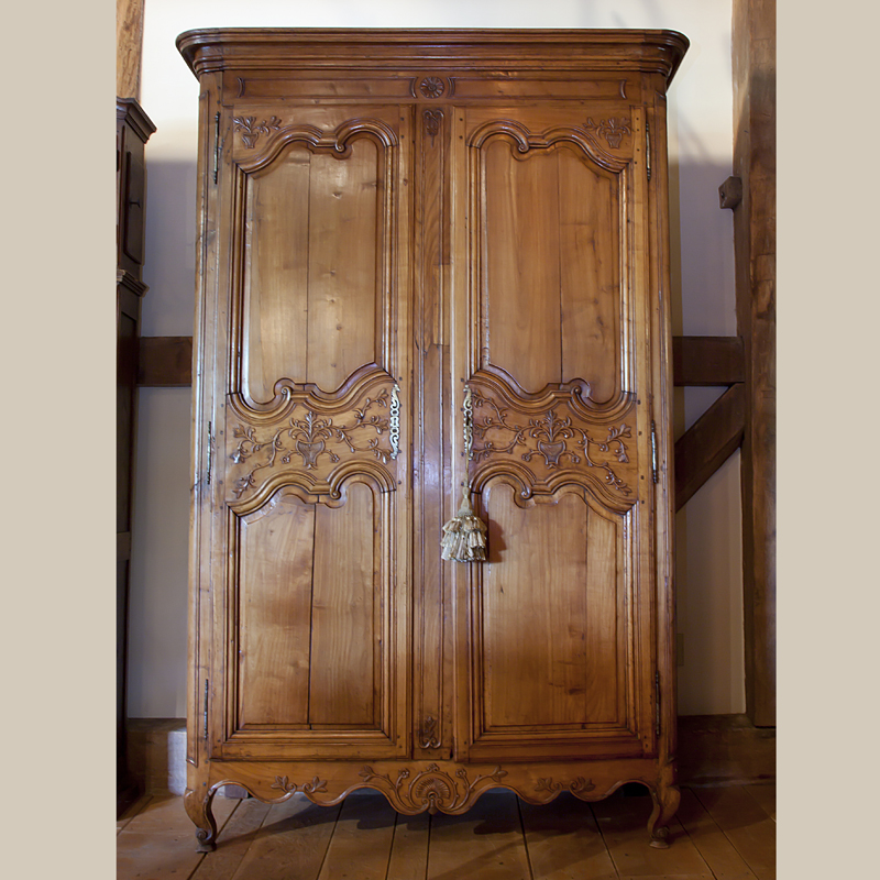 Unique French Country Armoire