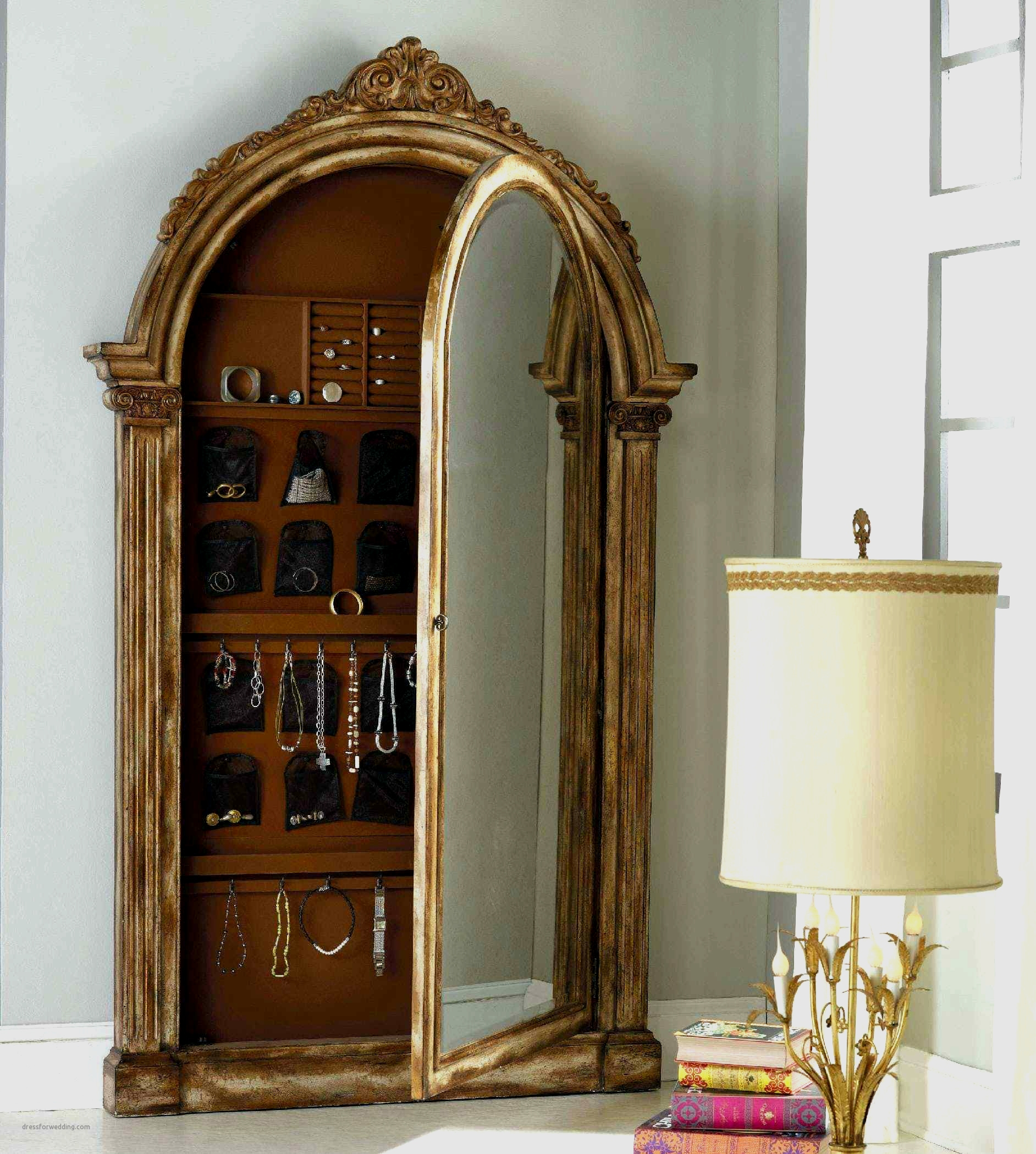 Picture of: Unique Full Length Mirror Jewelry Armoire