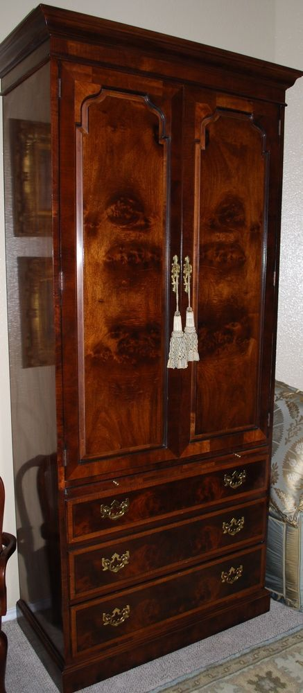 Picture of: Unique Henredon Armoire