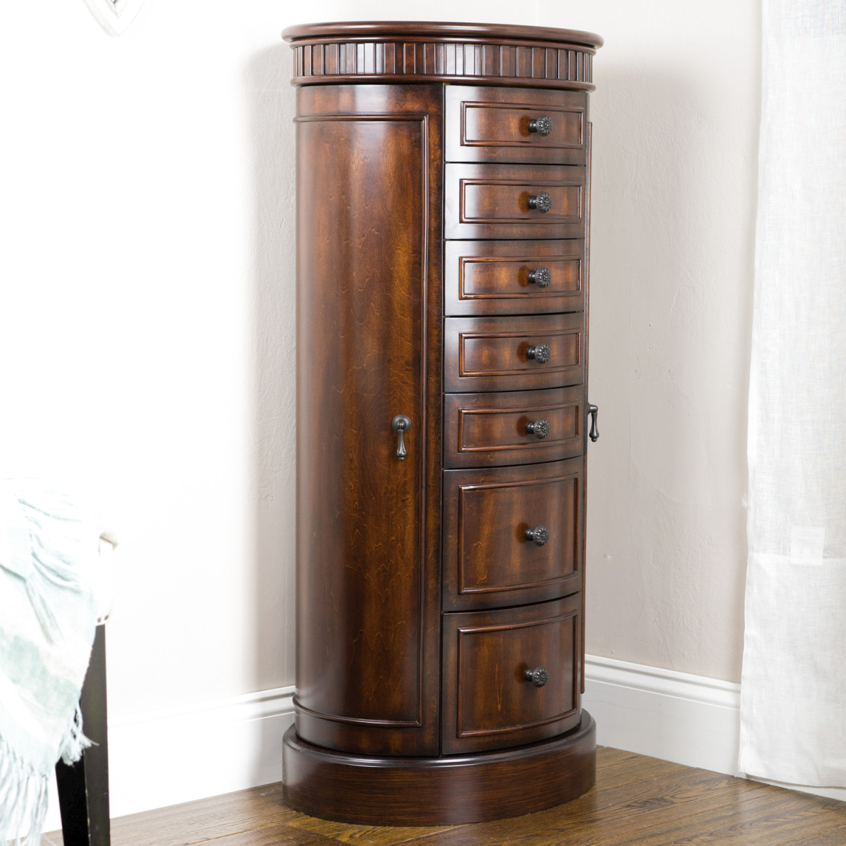 Image of: Unique Jewelry Chest Armoire