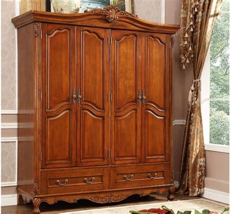 Image of: Unique Wooden Armoire
