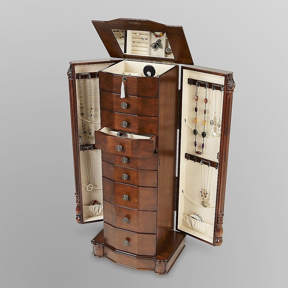 Picture of: Unusual Armoire Jewelry Box