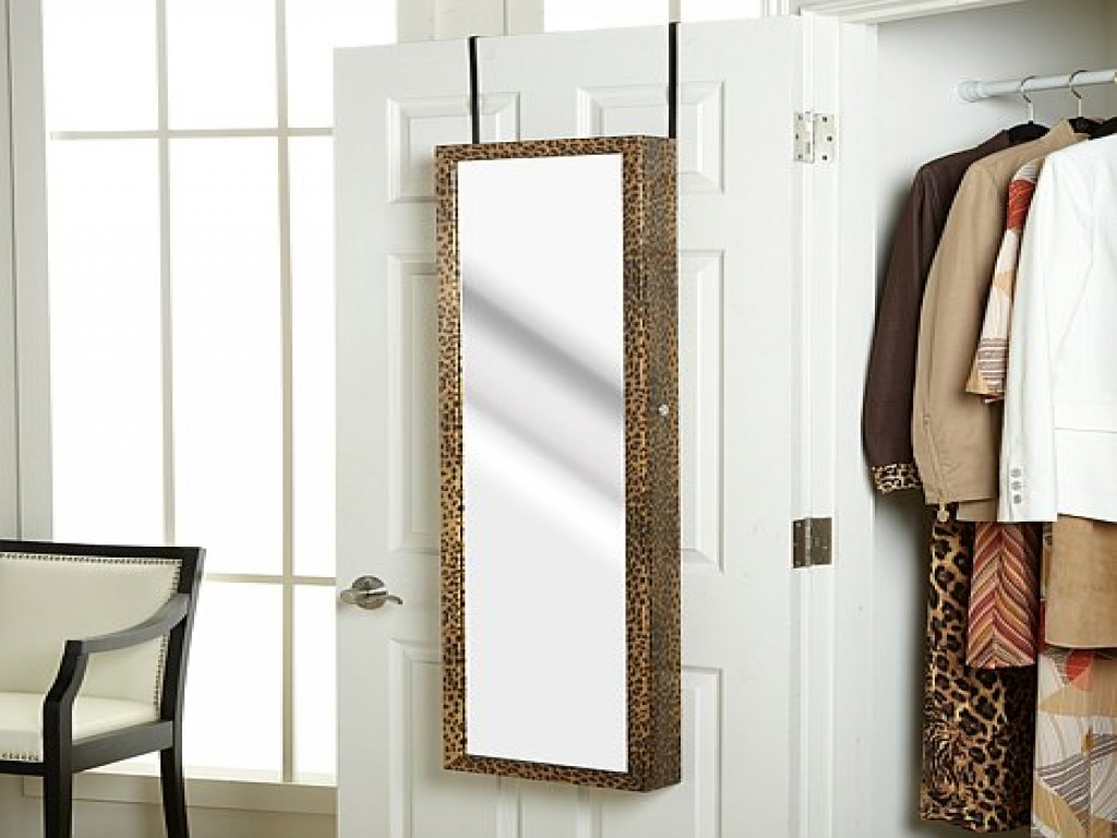 Picture of: Wall Full Length Mirror Jewelry Armoire