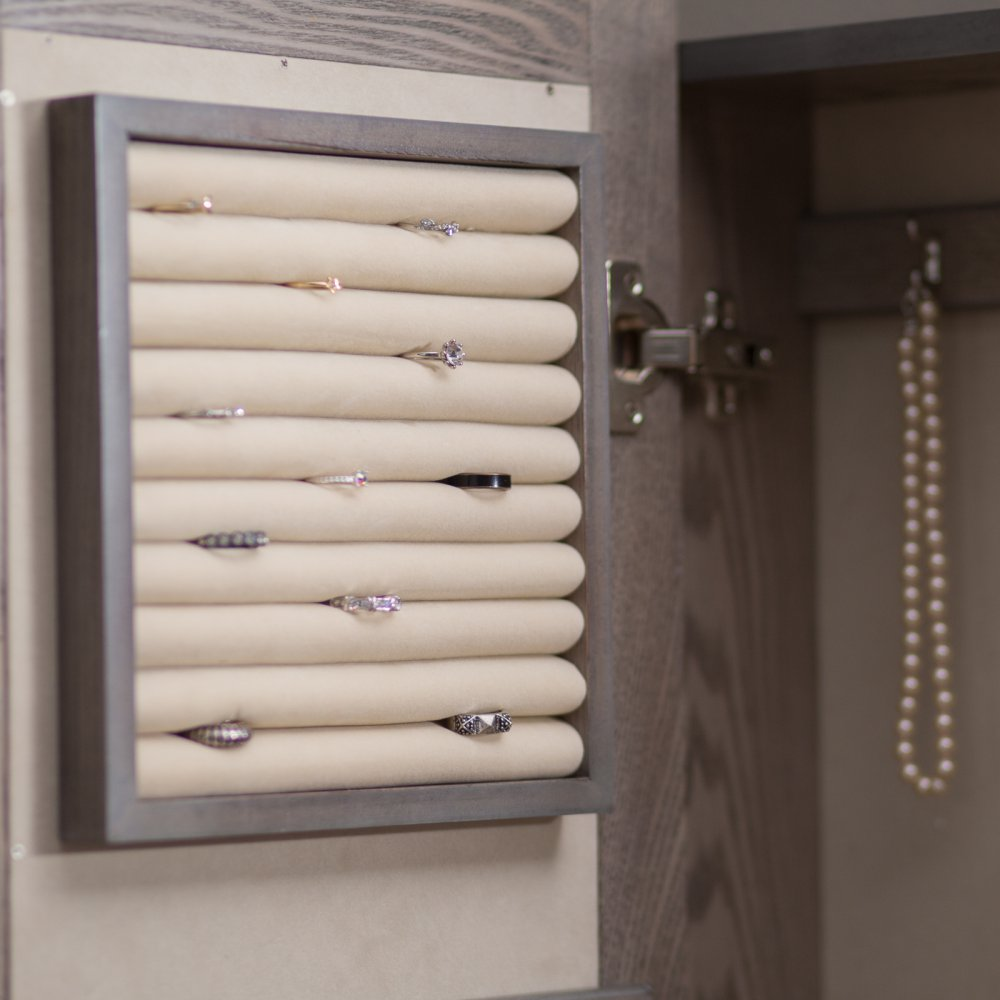 Wall Mounted Locking Armoire