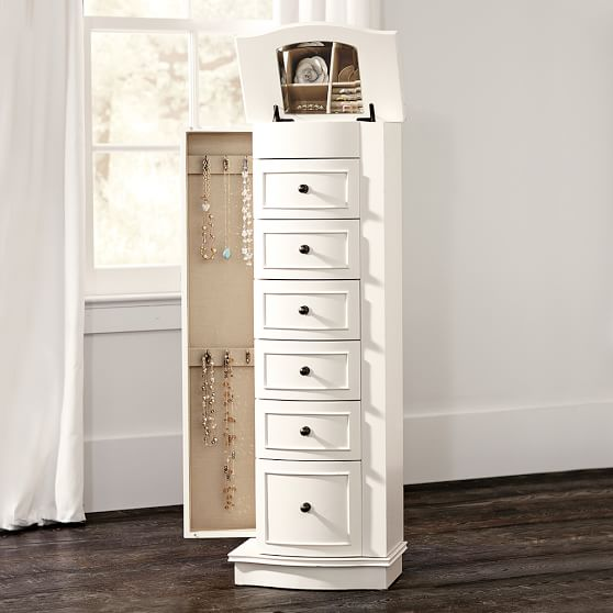 Image of: Western Jewelry Cabinet Armoire