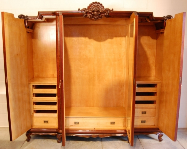 Picture of: Western Large Armoire Wardrobe