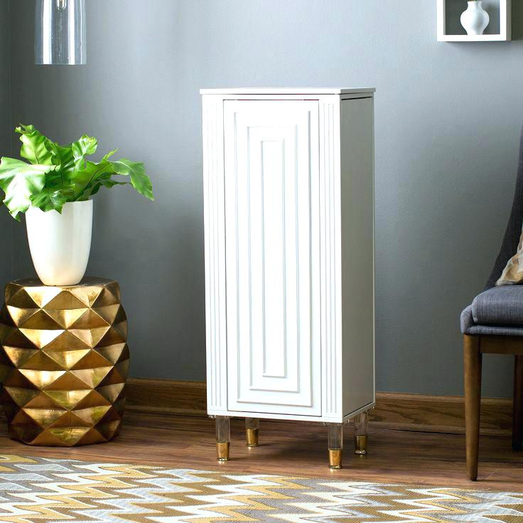 Picture of: White Hooker Armoire