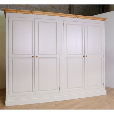 Picture of: White Large Armoire Wardrobe