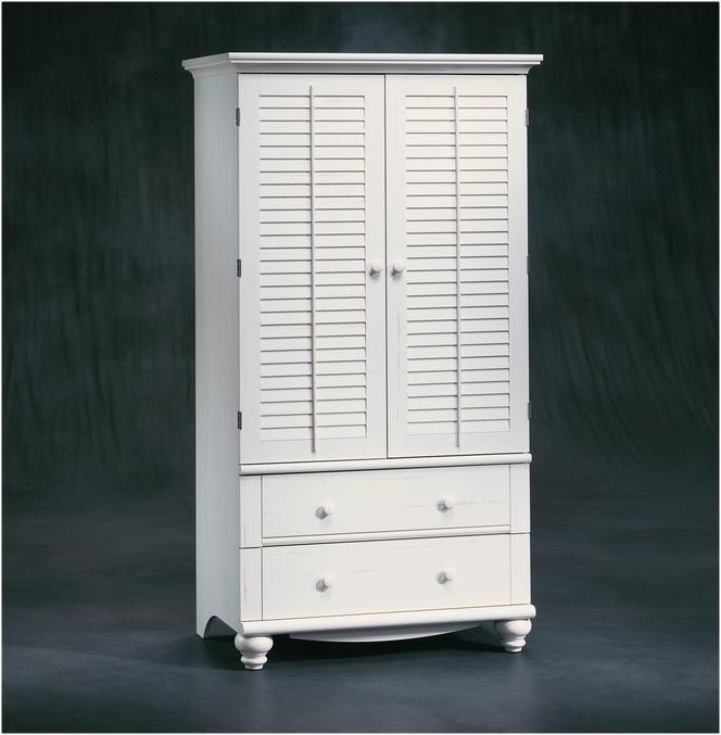 White Tall Armoire