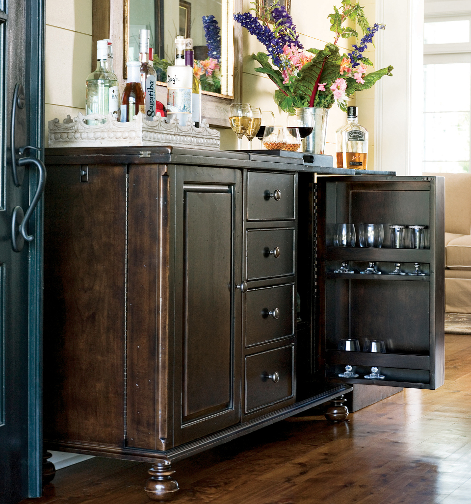 Image of: Wine Armoire Bar