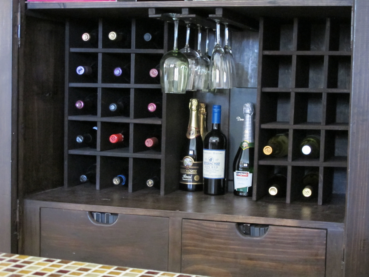 Image of: Wine Armoire Storage
