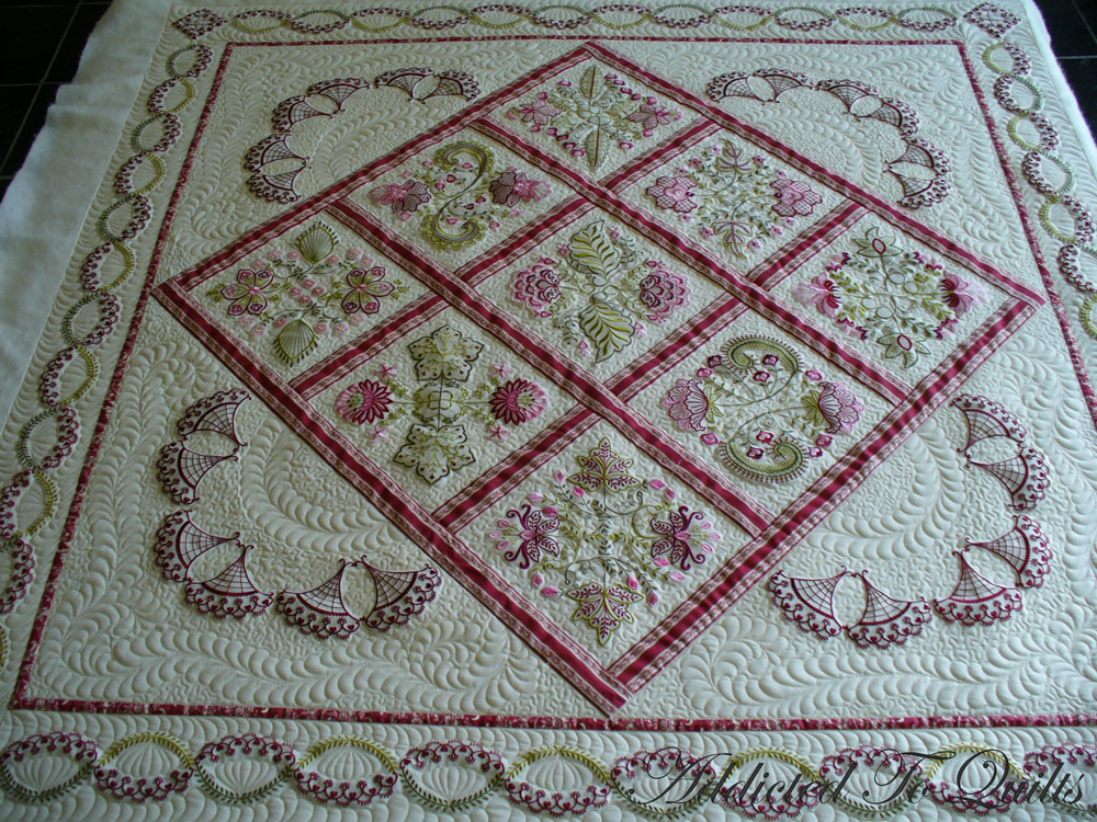 Addicted Embroidery Quilt Patterns