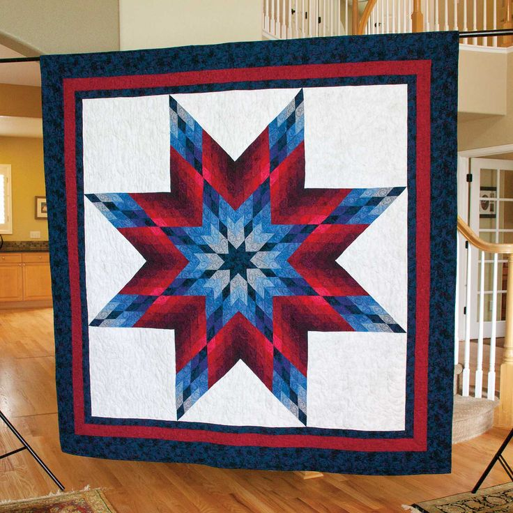 Amazing Lone Star Quilt Pattern