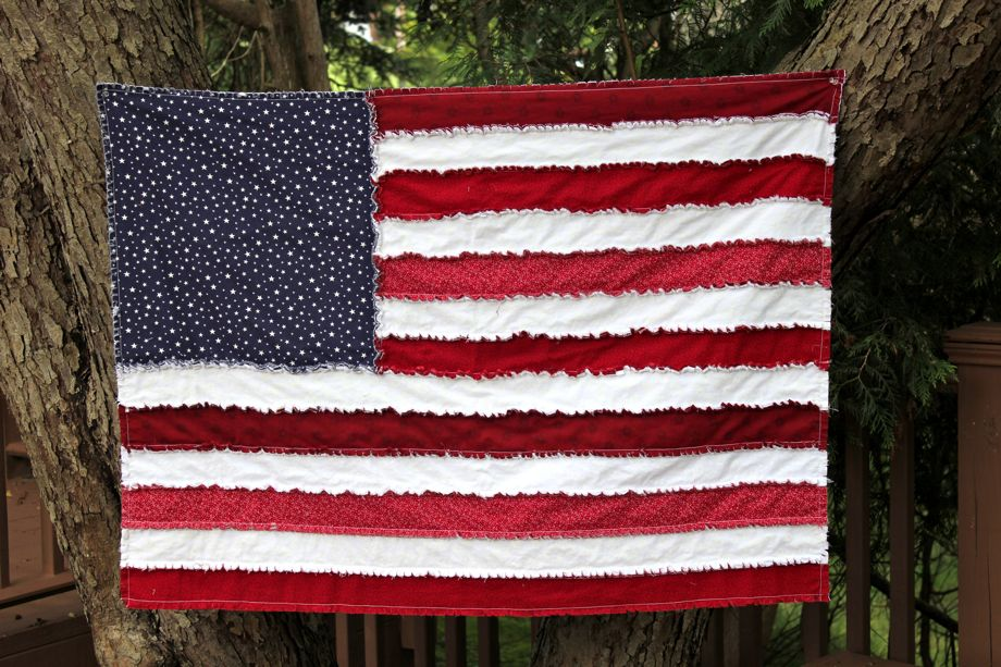 Image of: American Patriotic Quilt Patterns