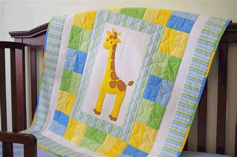 Image of: Animal Baby Quilts