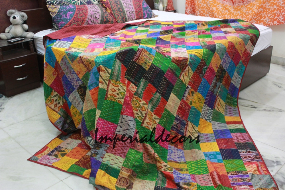 Image of: Applique Baby Quilt Color