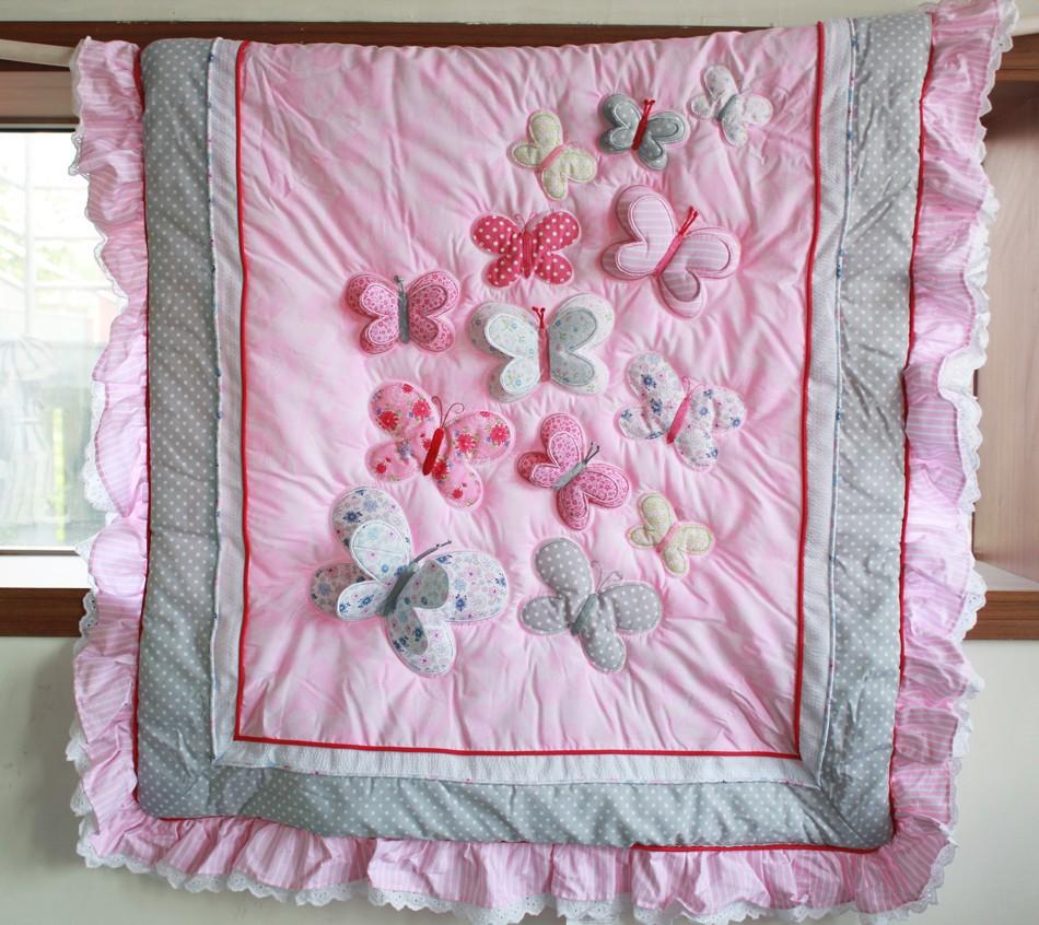 Picture of: Applique Baby Quilt Patterns Pink