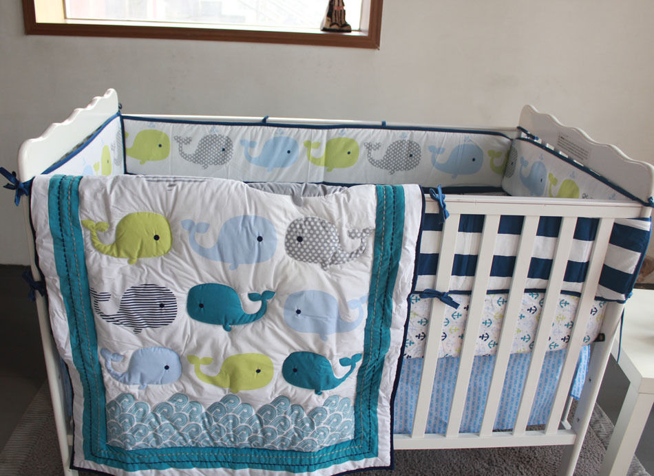 Picture of: Applique Baby Quilt Patterns Whale