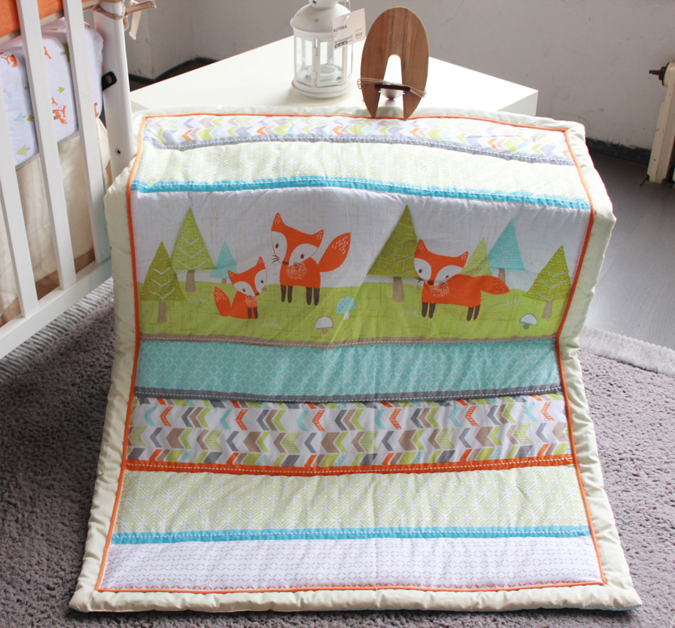 Image of: Applique Baby Quilt Theme