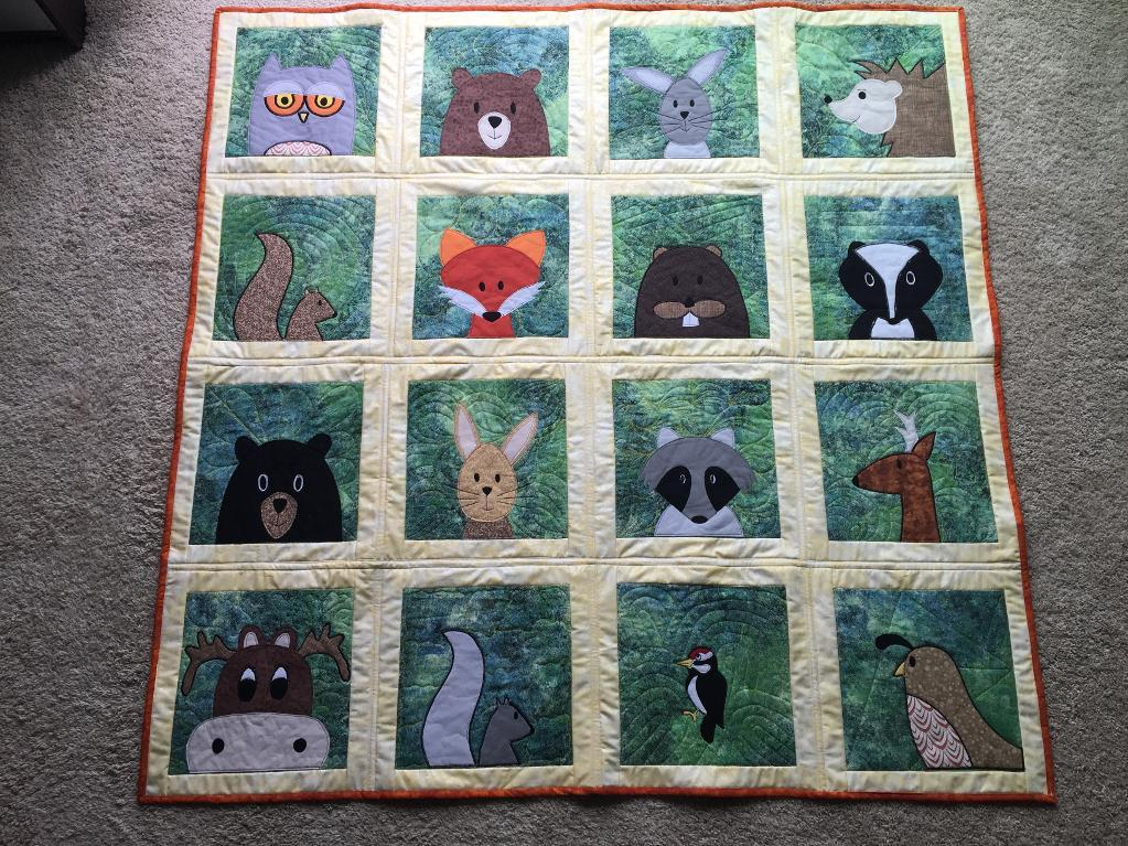 Picture of: Applique Quilt Patterns Animal