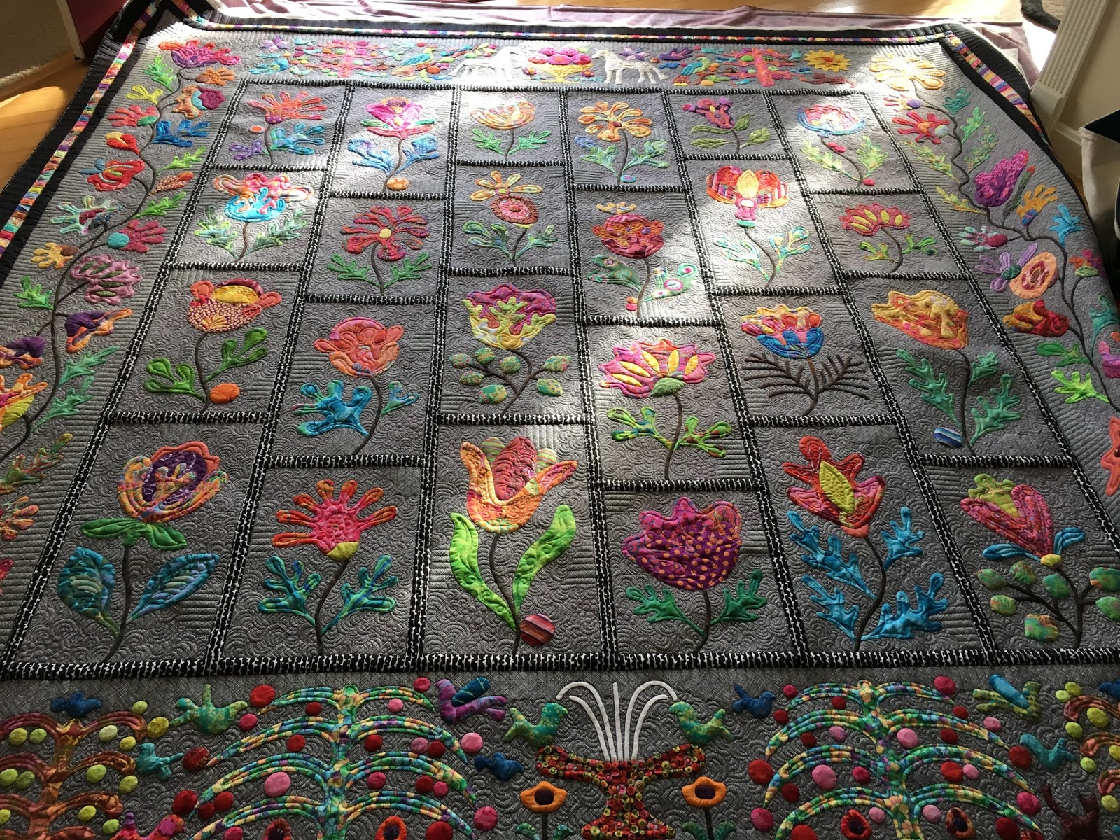 Picture of: Applique Quilt Patterns Large