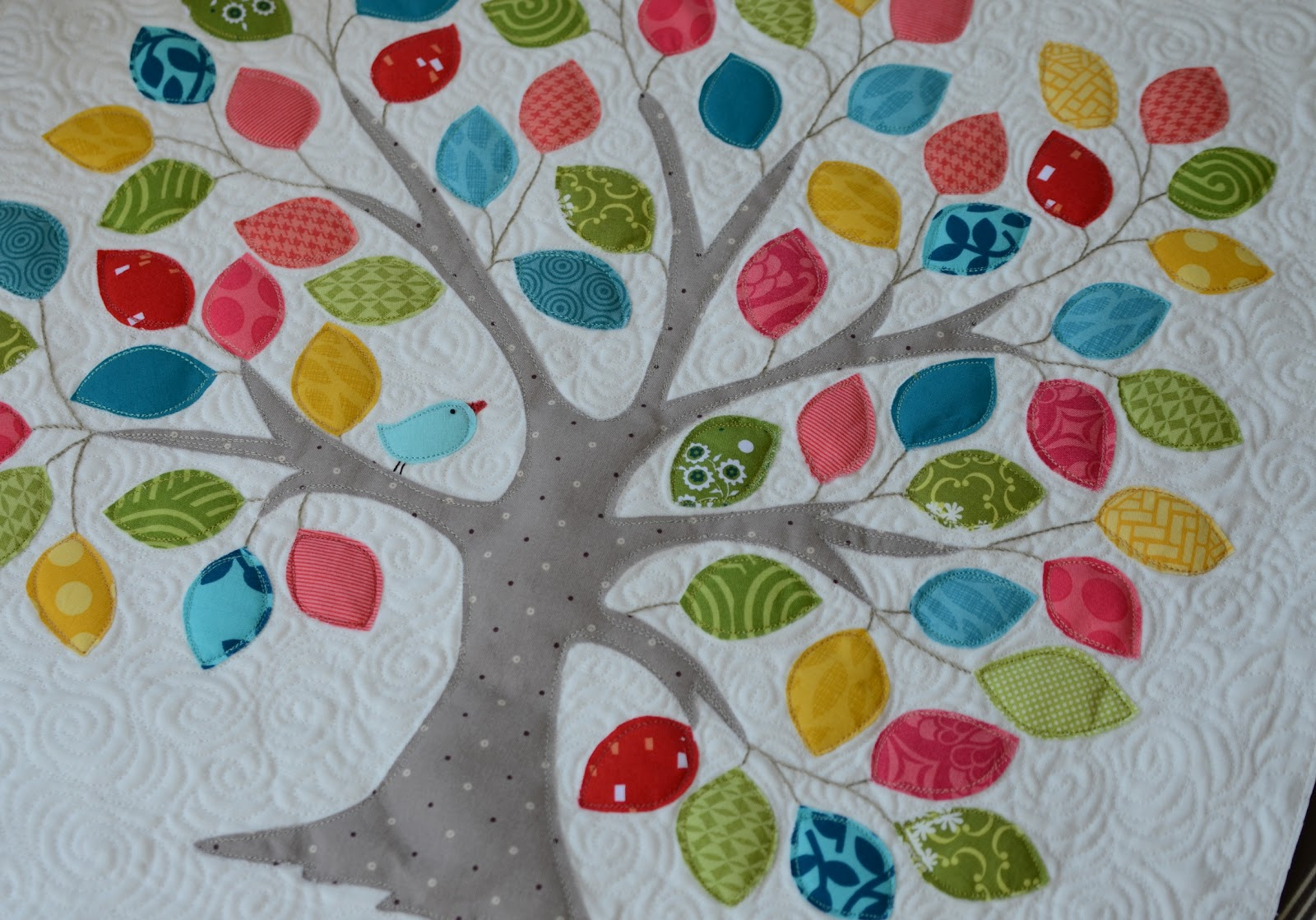 Picture of: Applique Quilt Patterns Tree