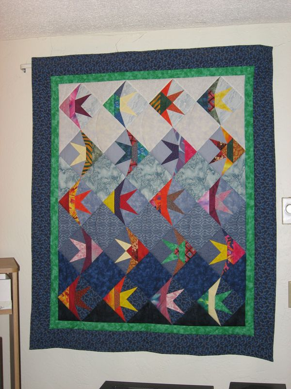 Picture of: Attachment Fish Quilt Pattern