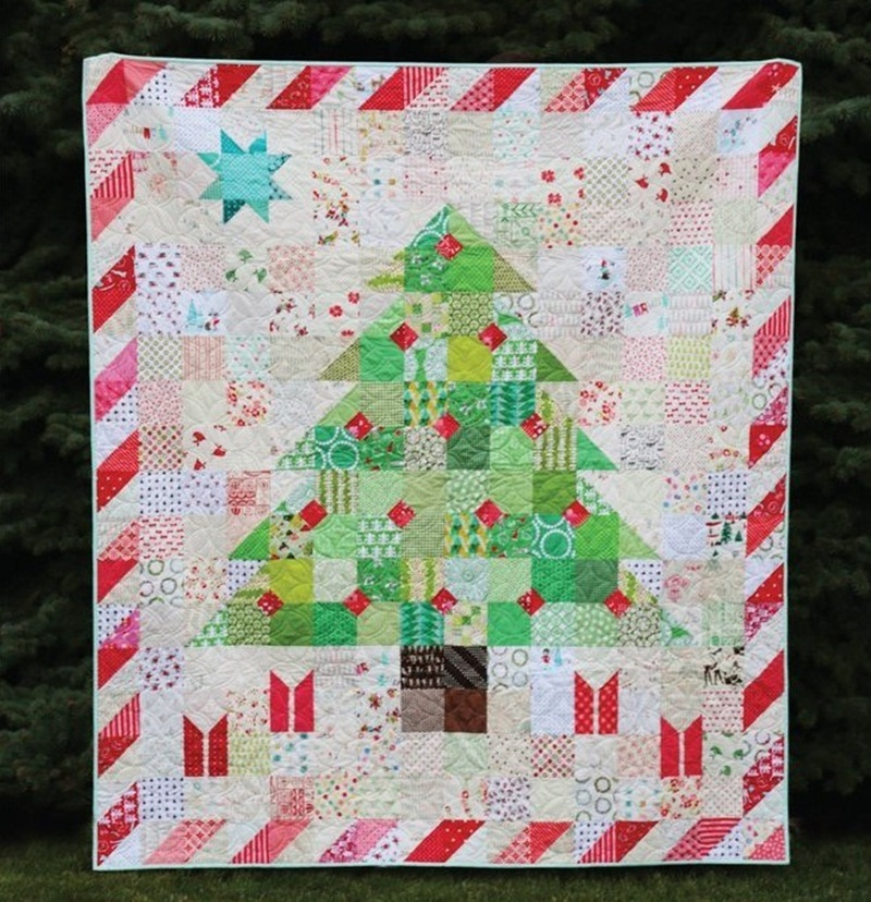 Picture of: Awesome Christmas Quilt Patterns