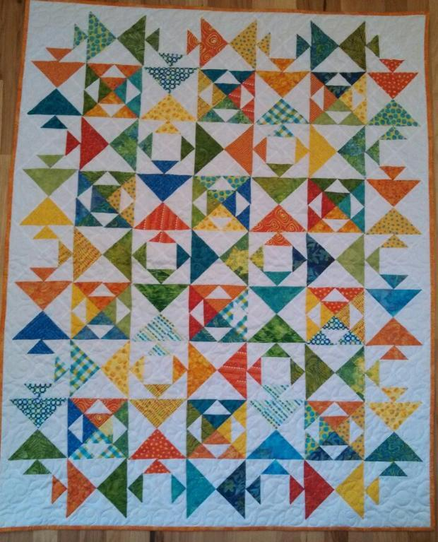 Picture of: Awesome Fish Quilt Pattern