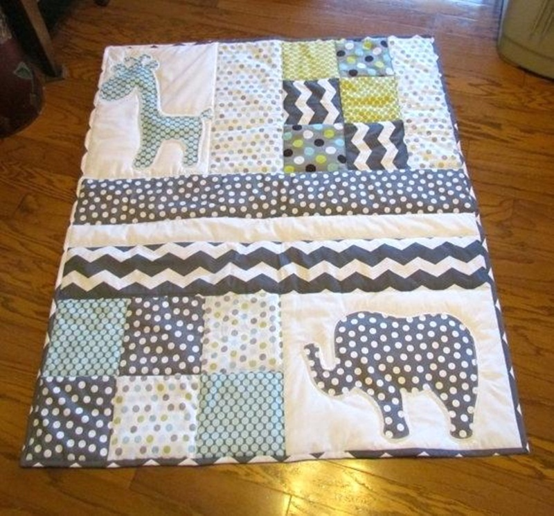 Picture of: Awesome Homemade Baby Quilts