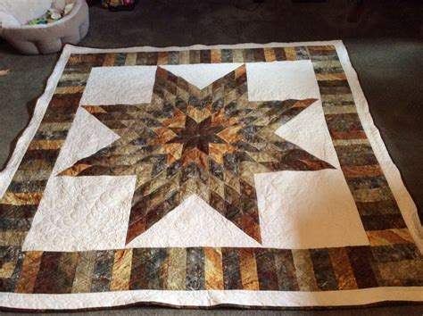 Image of: Awesome Lone Star Quilt Pattern