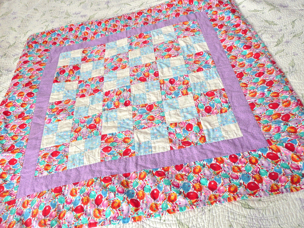 Picture of: Baby Blanket Quilt Patterns Colorful