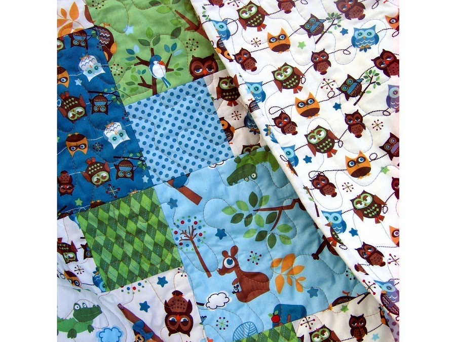 Image of: Baby Boy Quilt Kits Ideas