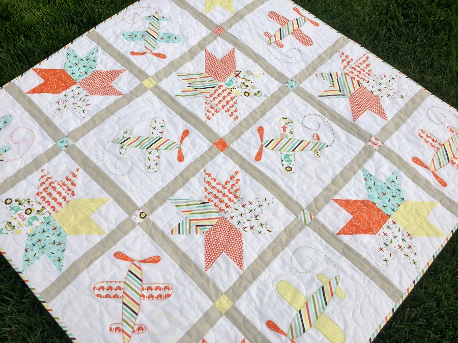 Image of: Baby Boy Quilt Kits Image