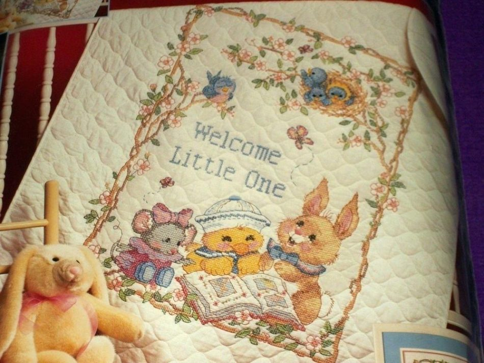 Image of: Baby Boy Quilt Kits Style