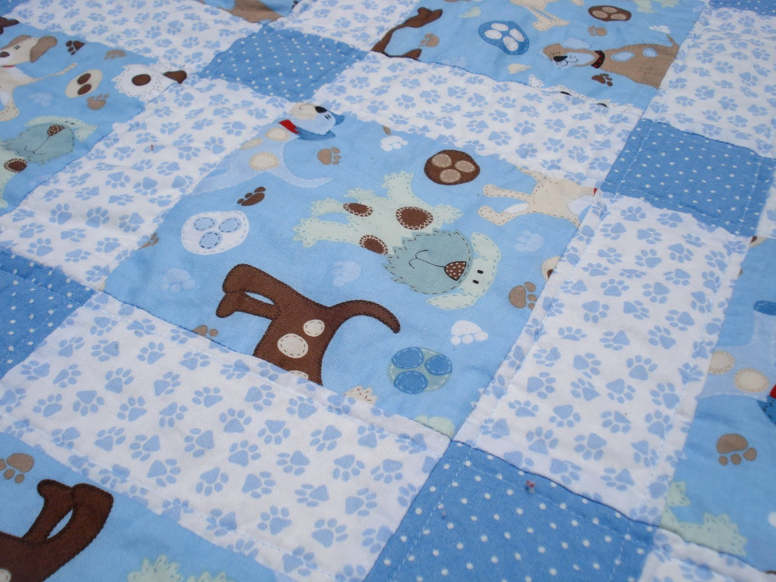 Image of: Baby Boy Quilt Patterns Free