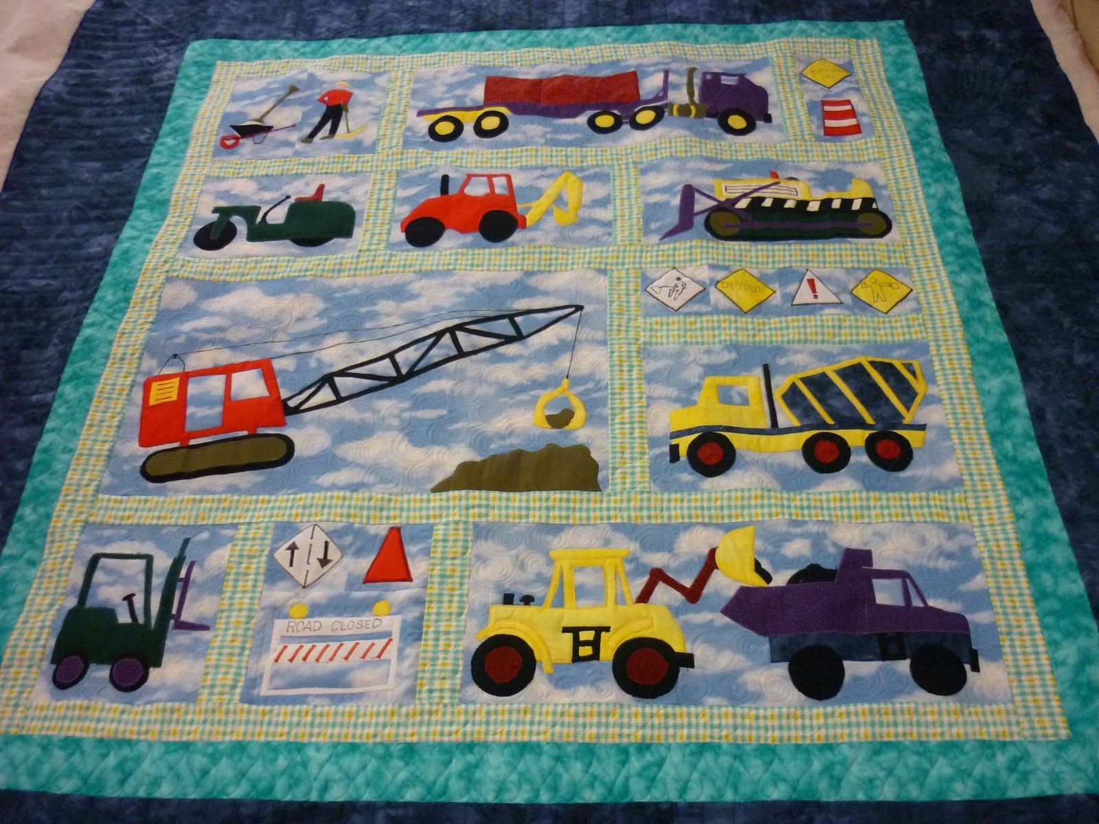Baby Boy Quilt Patterns Set